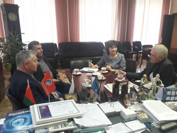 Встреча руководства МГК профсоюза с руководителем Ассоциации Экспертно-Аналитический Центр Проектировщиков «Проектный Портал»