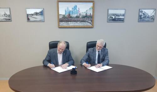 Подписание соглашения с Профсоюзом строителей РФ